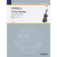 Schott Music Trio Sonatas Op. 3, Nos. 7-9 (Score and Parts) Schott Series Composed by Arcangelo Corelli