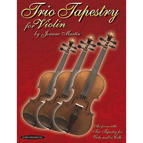 Alfred Trio Tapestry for Violin Book