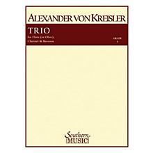 Southern Trio (Woodwind Trio) Southern Music Series by Alexander von Kreisler