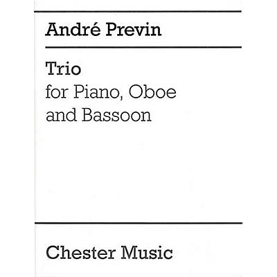 Chester Music Trio for Piano, Oboe and Bassoon Music Sales America Series by André Previn
