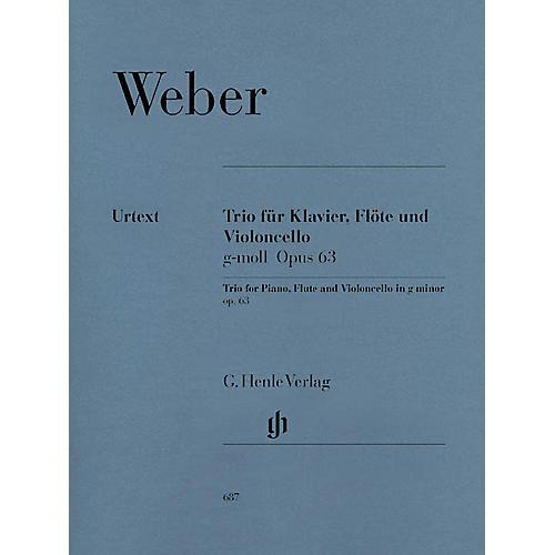 G. Henle Verlag Trio in G minor Op. 63 Henle Music Folios Series Softcover by Carl Maria von Weber