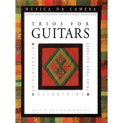 Editio Musica Budapest Trios for Guitars (for Music Schools) EMB Series