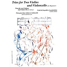 Editio Musica Budapest Trios for Two Violins and Violoncello for Beginners (Score and Parts) EMB Series Edited by András Soós