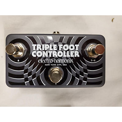 Electro-Harmonix Triple Foot Controller Pedal