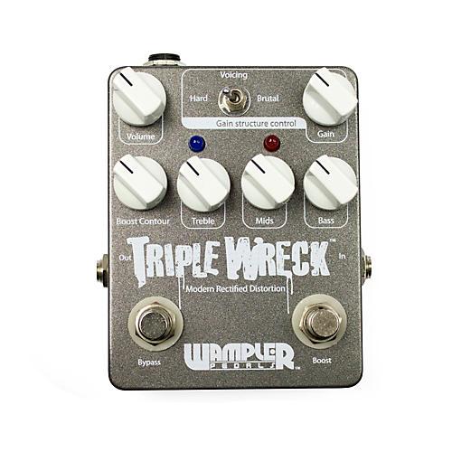 wampler triple wreck distortion guitar effects pedal musician 39 s friend. Black Bedroom Furniture Sets. Home Design Ideas
