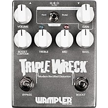 Open Box Wampler Triple Wreck Distortion Pedal