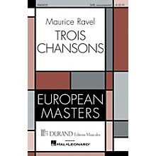 Editions Durand Trois Chansons composed by Maurice Ravel