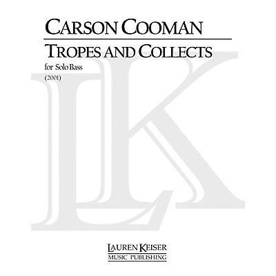 Lauren Keiser Music Publishing Tropes and Collects (Double Bass Solo) LKM Music Series Composed by Carson Cooman