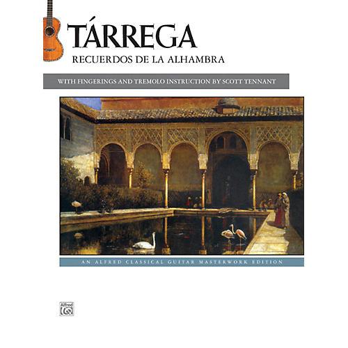 Alfred T¡rrega - Recuerdos de la Alhambra Guitar Book