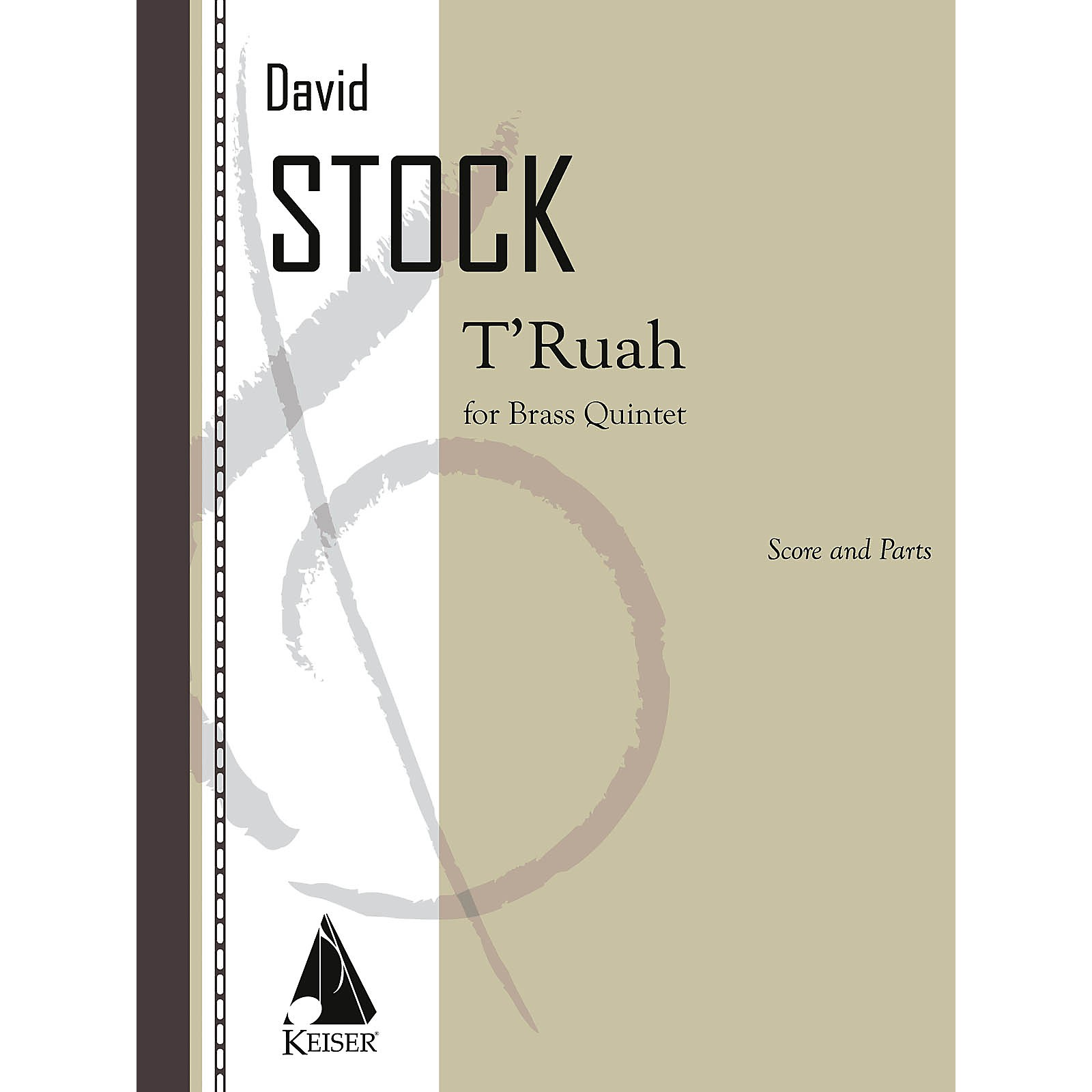 Lauren Keiser Music Publishing T'ruah for Brass Quintet LKM Music Series Book  by David Stock