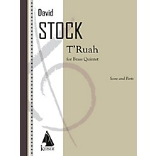 Lauren Keiser Music Publishing T'ruah for Brass Quintet LKM Music Series Book  by David Stock