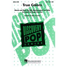 Hal Leonard True Colors SAB by Cyndi Lauper arranged by Roger Emerson