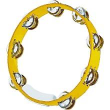True Colors Tambourine Yellow 10 in.