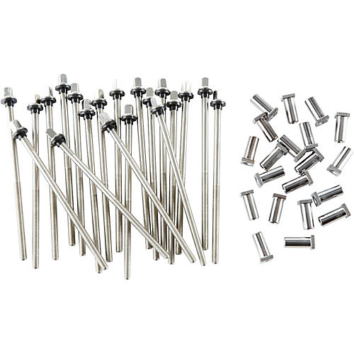 DW True Pitch Bass Drum Tension Rods (20-pack)