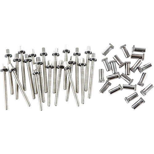 DW True Pitch Snare Drum Tension Rods (20-pack) 5.5 Inch Deep Drum