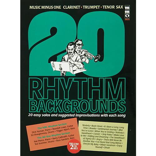 Hal Leonard Trumpet 20 Rhythm Backgrounds, Standards