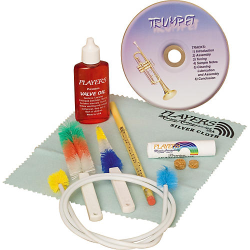 Players Trumpet Care Kit Silver