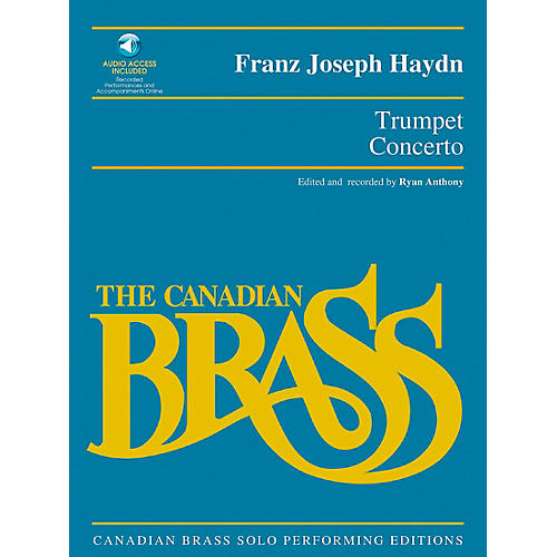 Hal Leonard Trumpet Concerto Brass Solo Series Softcover with CD Performed by The Canadian Brass