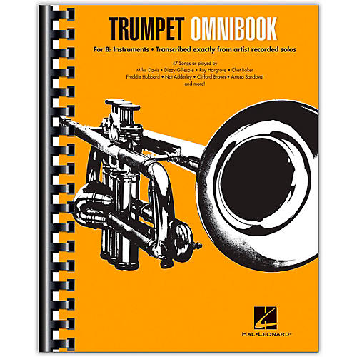 Hal Leonard Trumpet Omnibook For B-Flat Instruments Transcribed Exactly from Artist Recorded Solos