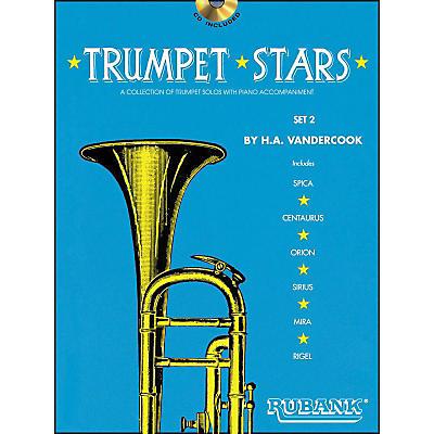 Hal Leonard Trumpet Stars Set 2 Book/CD