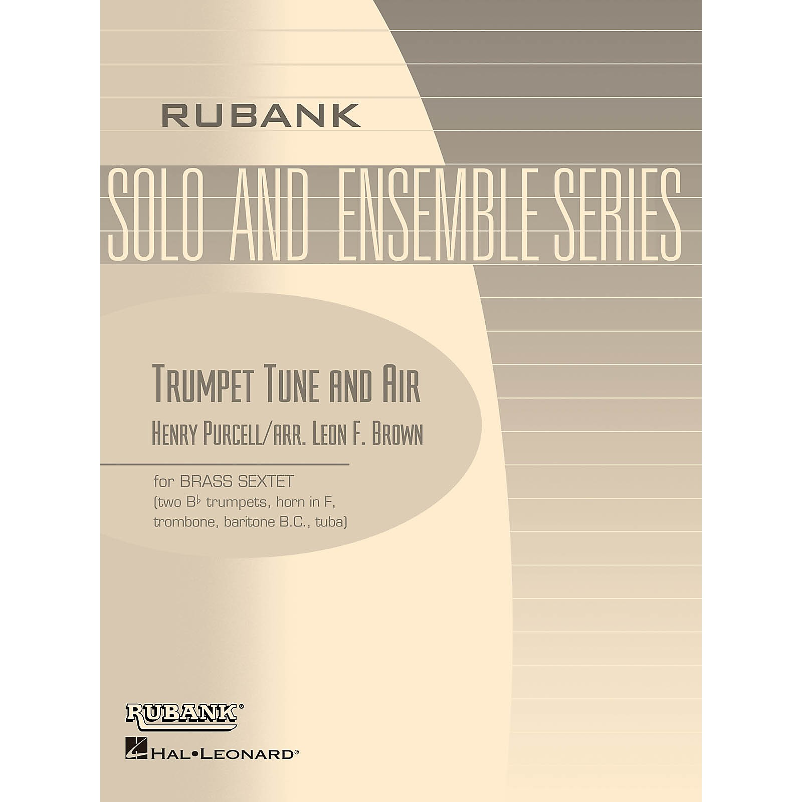 Rubank Publications Trumpet Tune and Air (Brass Sextet - Grade 2) Rubank Solo/Ensemble Sheet Series