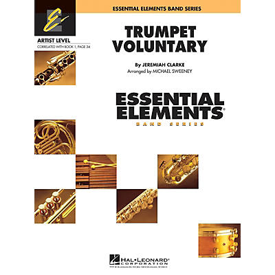 Hal Leonard Trumpet Voluntary Concert Band Level 1 Arranged by Michael Sweeney