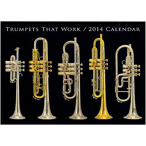 Hal Leonard Trumpets That Work 2013 & 2014 Wall Calendar Bundle