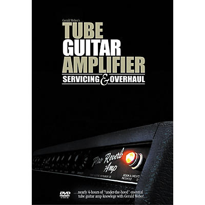 Kendrick Tube Guitar Amplifier Servicing and Overhaul (DVD)