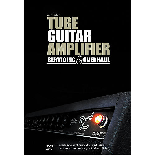 Kendrick Books Tube Guitar Amplifier Servicing and Overhaul (DVD)