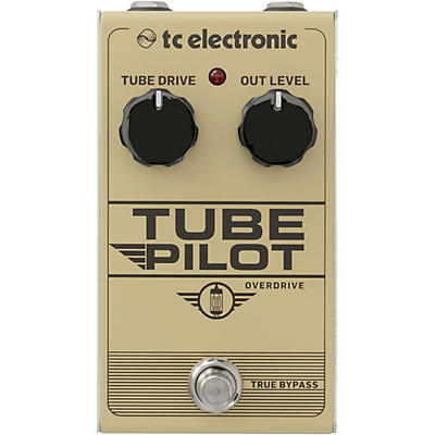 TC Electronic Tube Pilot Overdrive Effects Pedal