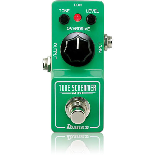 ibanez tube screamer mini guitar effect pedal musician 39 s friend. Black Bedroom Furniture Sets. Home Design Ideas