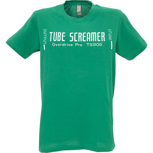 Ibanez Tube Screamer T-Shirt Green Extra Large