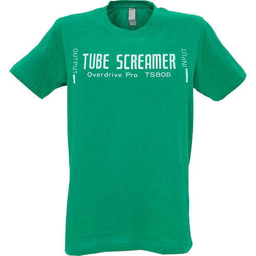 Ibanez Tube Screamer T-Shirt Small Green