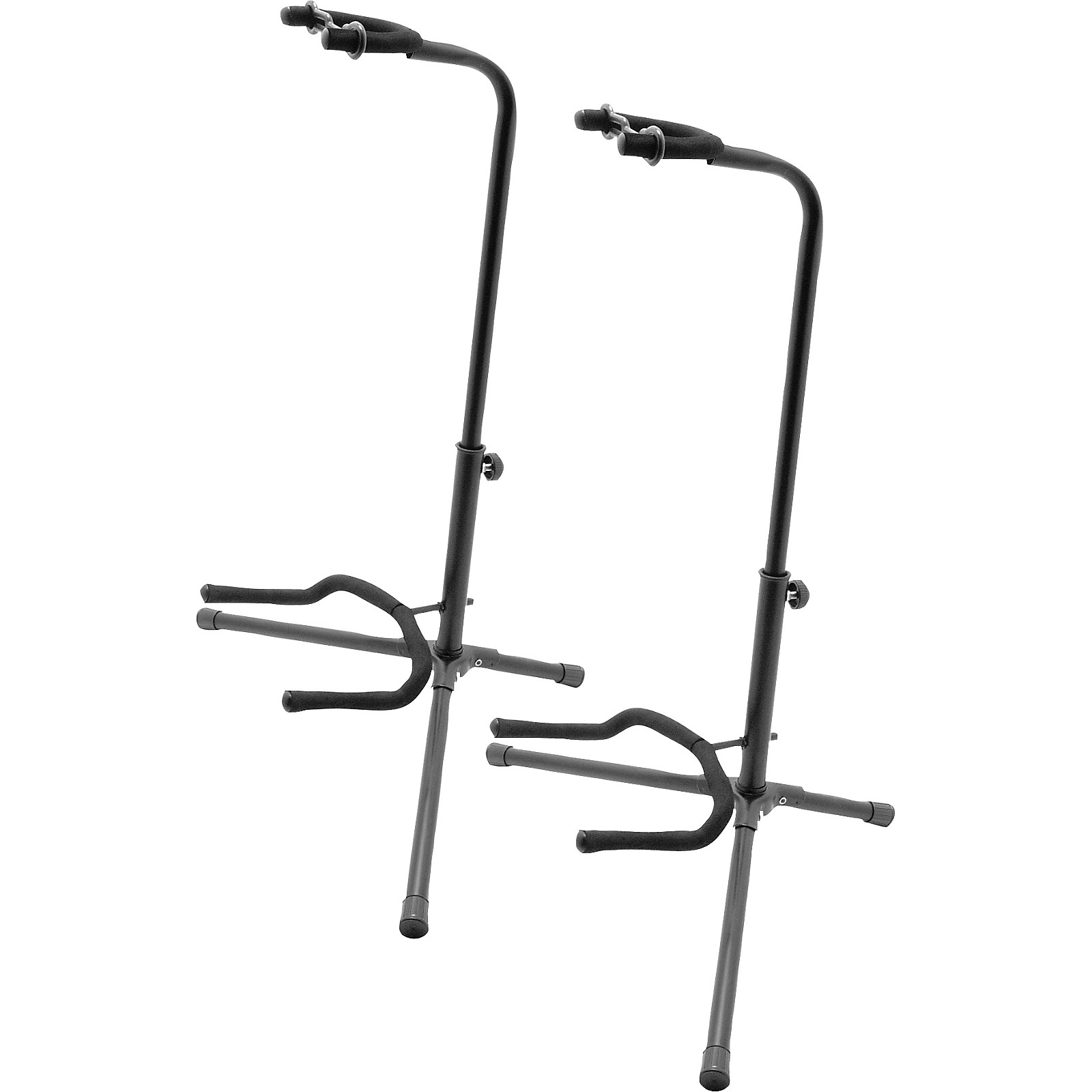 On-Stage Tubular Guitar Stand 2-Pack