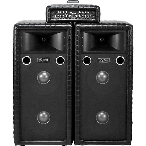 Kustom PA Tuck N Roll Dual 15 PA Package Black