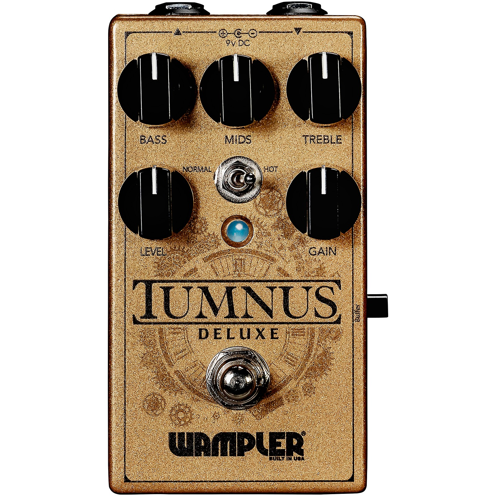 Wampler Tumnus Deluxe Overdrive Effects Pedal