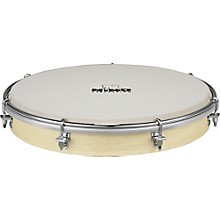 Tunable Nino Hand Drum with True Feel Synthetic Head Natural 10 in.