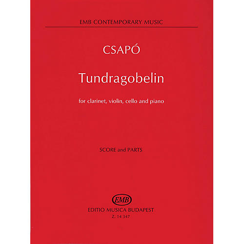 Editio Musica Budapest Tundragobelin (Score and Parts) EMB Series Composed by Gyula Csapó