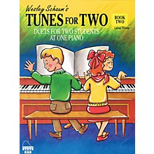 SCHAUM Tunes for Two - Book 2 Educational Piano Book (Level Elem)