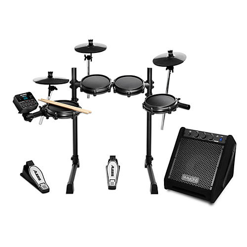 Alesis Turbo Mesh Electronic Drum Kit with Simmons DA25 Monitor