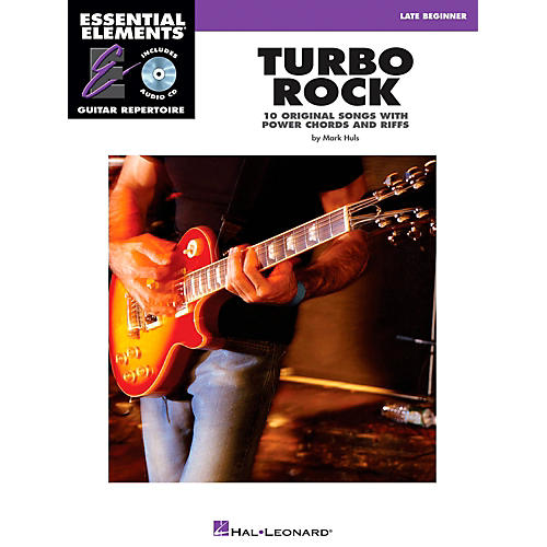 Hal Leonard Turbo Rock - Eary Intermediate Essential Elements Guitar Repertoire Book/CD
