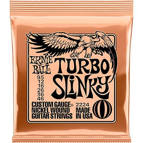 Ernie Ball Turbo Slinky 2224 (9.5-46) Nickel Wound Electric Guitar Strings
