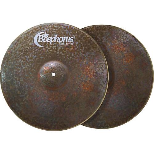 Bosphorus Cymbals Turk Series Dark Hi-Hat Cymbals Pair