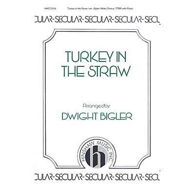 Hinshaw Music Turkey in the Straw TTBB arranged by Dwight Bigler