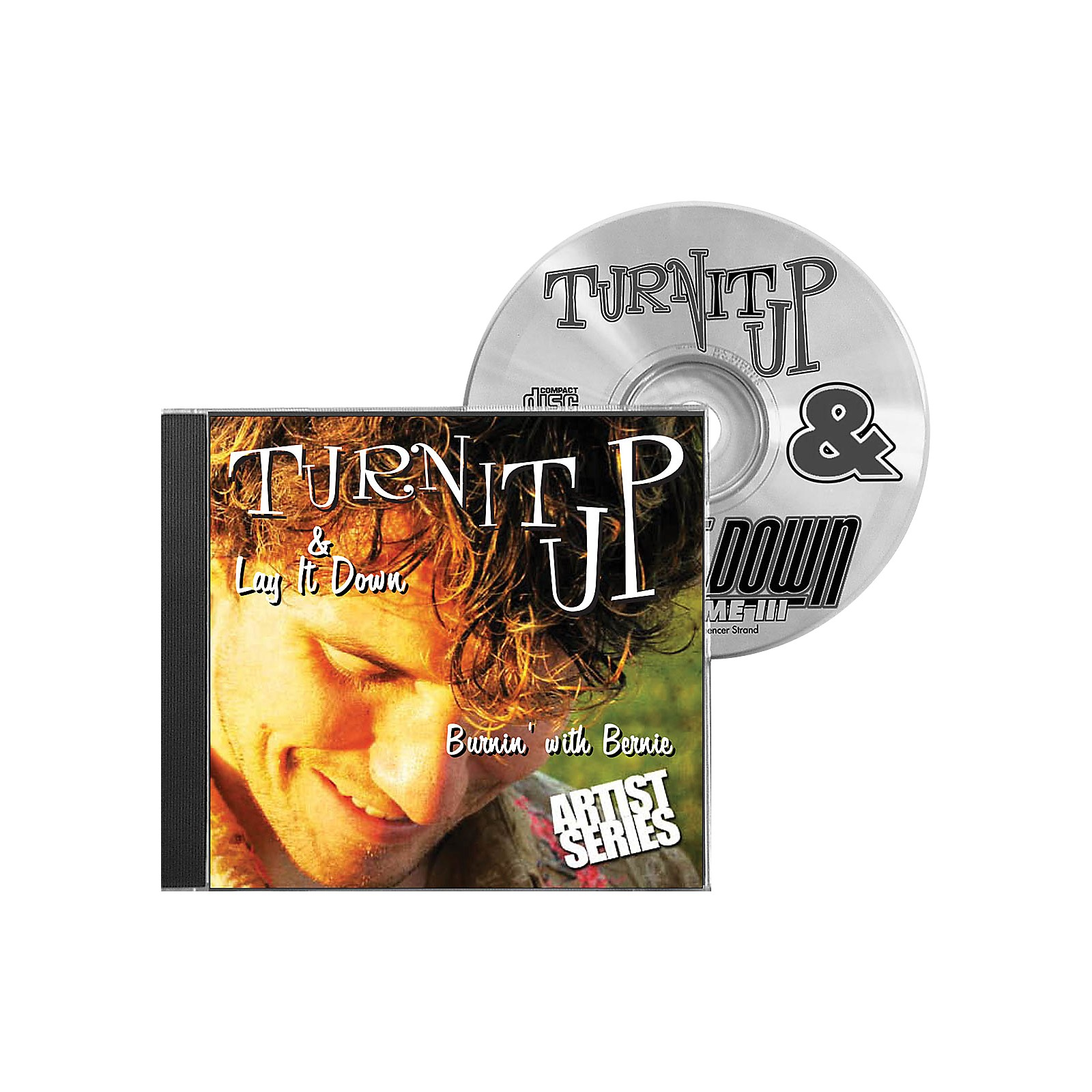 Drum Fun Inc Turn It Up and Lay It Down, Volume 9 - Burnin' with Bernie - Play Along CD for Drummers