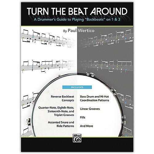 Alfred Turn the Beat Around Book
