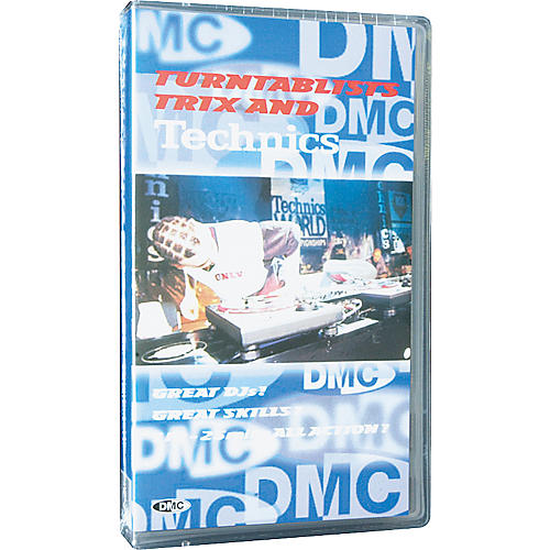 DMC Turntablist, Trix and Technics VHS Video
