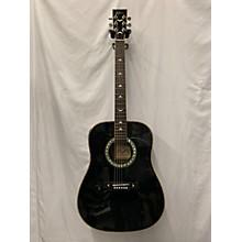 Esteban Turquoise T-300 Acoustic Electric Guitar