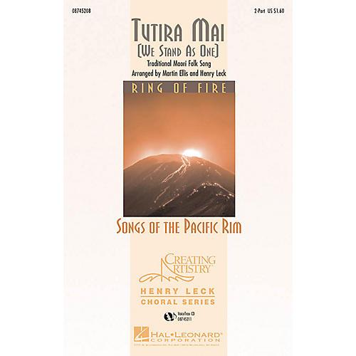 Hal Leonard Tutira Mai VoiceTrax CD