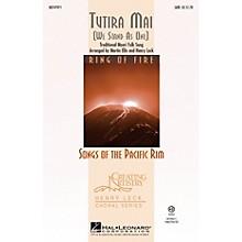 Hal Leonard Tutira Mai (We Stand As One) SATB